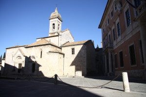 Piazza Chigi_San Quirico d'Orcia
