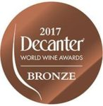 decanter awards bronze 2017