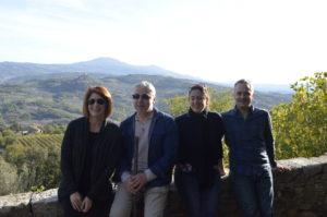 giornalisti statunitesi incoming consorzio vino orcia