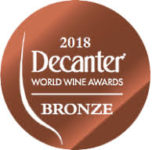 bronzo decanter awards 2018